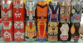 鹹蛋超人~怪獸復刻堂~絕版可口可樂罐