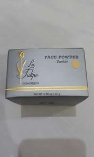 Face powder