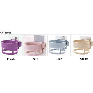 Brand New (in stocks) Hair Dryer Holder - Purple,Pink,Blue and Cream