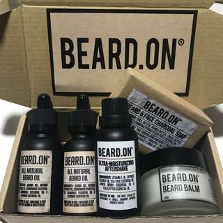 PREMIUM Beard.On Men's Beard Package