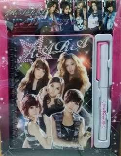 韓國女子組合 KARA 文具套裝 B款 包郵