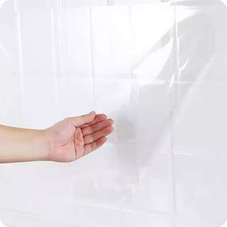 Kitchen transparent oil-resistant self-adhesive stickers