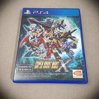 PS4 Super Robot Wars X