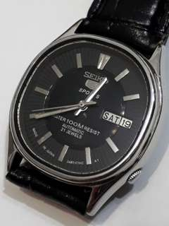 SEIKO 5 sport AUTOMATIC WATCH