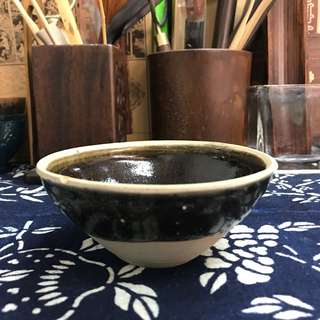 吉州窯芒口黑釉盞#3580,10*4.6cm左右,品相基本完整