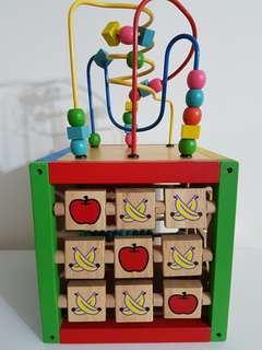 Wooden Activity Centre Toy
