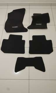 2016 Subaru XV original car mat set