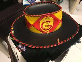 Cowboy hat Leather USA