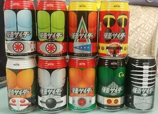 仮面超人~幪面超人~復刻堂~ 絕版可口可樂罐