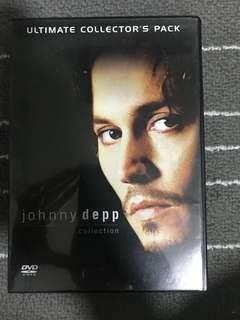 Johnny Depp Movie dvd collection