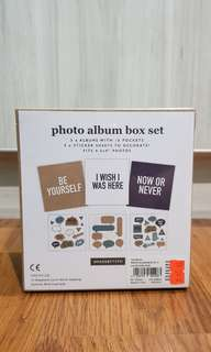 Typo Photo Album Box Set 3