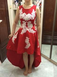 NEW! Red Elegant Dress