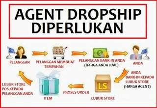 Agent Dropship / Reseller Diperlukan