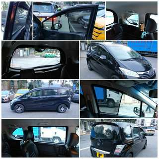 🎊📣🎉 本田 Stepwgn Freed Odyssey Mobilio Edix Jauz Fit 款濾光窗網直銷價 $880 🎊📣🎉