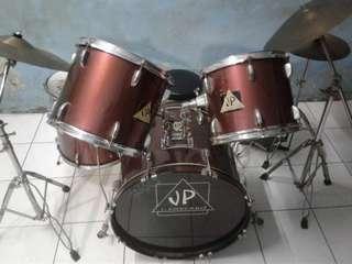 """Jual murah 1 set Drum merek """" JP """" ( komplit )"""