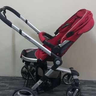 Stroller & baby carrier Halford Zuzz 4