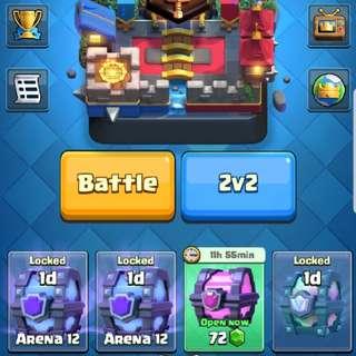 Clash Royale 4k+ Account