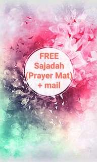Free Sajadah (prayer mat)