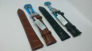 19mm 牛仔皮錶帶 (Genuine Calf Leather)