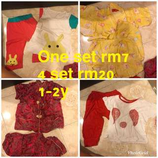 Bundle cute set CNY raya combo