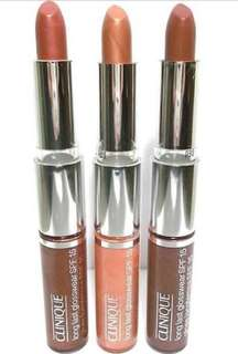 Clinique Lipgloss Lipstick Duo