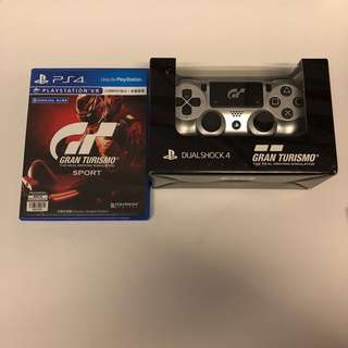 WTS- [BN] GT Sports Limited edition controller + preowned GT sports Game