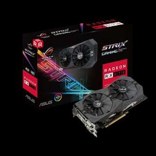 ASUS ROG STRIX RADEON RX 570 OC EDITION 4GB GDDR5 GRAPHICS CARD