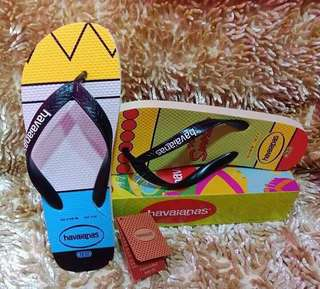Bart and Marge Simpson Havaianas