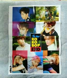 EXO folded poster