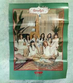 Lovelyz folded poster