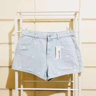 Paperscissors Daisy Denim High Waisted Shorts