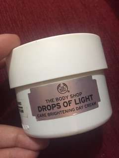 The body shop drops of lights