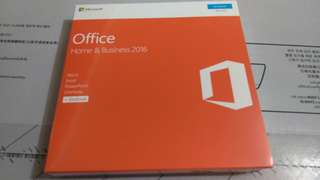 Microsoft 2016 home and Business License