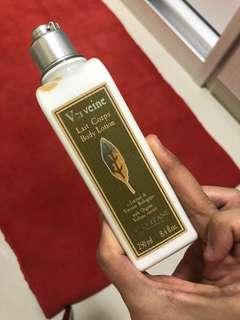 Loccitaine body lotion