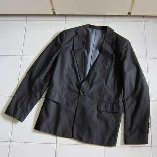 全新New(59面交/順豐)Dior款黑色修身百搭Suit西裝褸g2000 zara it 5cm initial