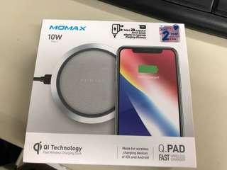 MOMAX Q PAD 無線充電🔋 (行貨, 二手)