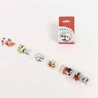 Panda Washi Tape