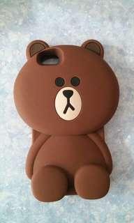 iphone6立體卡通熊仔case