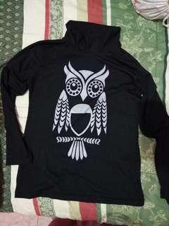 Kaos tangan panjang owl