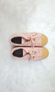 Size 5 Adidas Pharell Williams Pink Gum