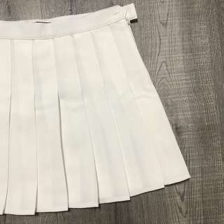 INSTOCK• White tennis skirt