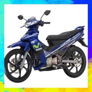 Yamaha 125ZR Movistar coverset