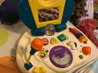VTECH USA microphone musical Toy