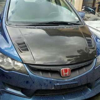 Carbon Fiber original brand new for honda civic