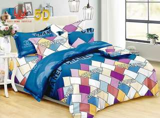 Chanel 4 in 1 Bedsheet