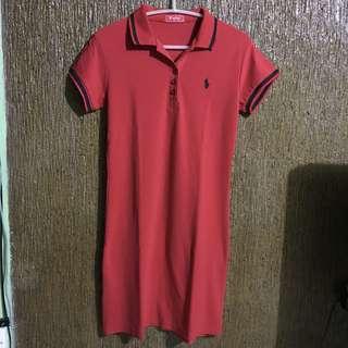 Polo Bodycon Dress