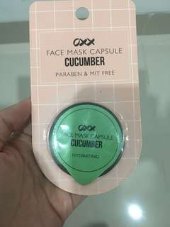 OXX Face Mask capsule Cucumber