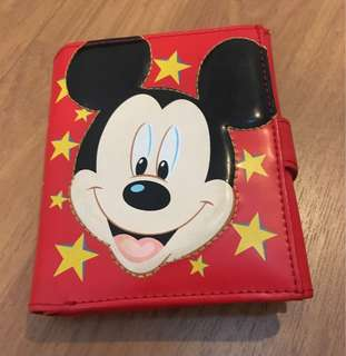 Disneyland Mickey Mouse wallet
