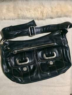Liz Claiborne New York Black Body Bag