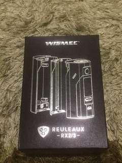 Rokok Elektrik/Vape Wismeck Reuleaux RX2/3